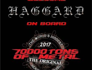 Confirmed: Haggard will perform at 70000 Tons 2017